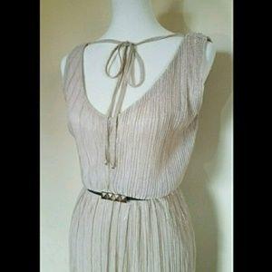 NWOT! Worthington Shimmery Dress with Belt